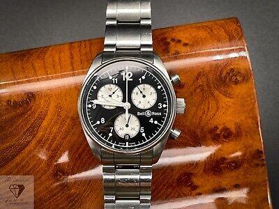 Vintage Bell & Ross Quartz Chronograph 120 - Reverse Panda + Original Bracelet