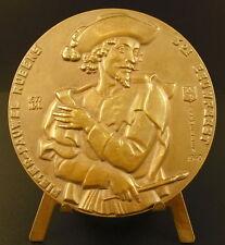 Médaille peintre flamand Paul Rubens faune Satyr dansant & nude Maiden medal