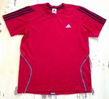 ADIDAS RESPONSE - Mens Red Mesh Soccer Athletic Shirt, Bayern Munich, MEDIUM