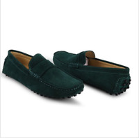 Mens Casual Moccasin Loafer slip on Driving suede boats Shoes Dress Formal
