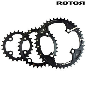 ROTOR XC3 ROUND CHAINRINGS - XC3 / TRIPLE CHAINRINGS, BCD104/64 - 42,32,24T