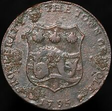 More details for 1795   prosperity to the town of poole half-penny token   tokens   km coins