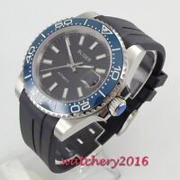 39mm Bliger Black dial Automatic Movement Sapphire Glass Mechanical men's Watch