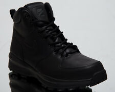 finest selection b77b8 32230 Nike Manoa Leather Triple Black BOOTS Mens Size 14 US