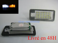 Module Plaque LED Audi A3/S3 2004-2009 Pack Ampoule LED Plaque Blanc