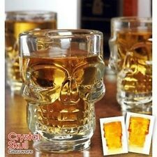 Creative Large Crystal Skull Cup / Beer Mug / Pirate Glass 0035