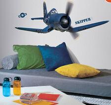 DISNEY PLANES SKIPPER RILEY wall stickers 13 decals airplane Propwash Junction