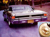 1967 CHEVY CHEVELLE SS ORIGINAL AD *396/v8/ss427/grille/emblem/decal/fender/hood
