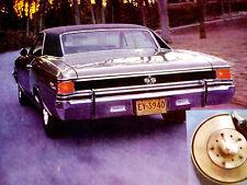 1967 Chevy Chevelle Ss Original Ad *Malibu/396/427 V8/door/hood/steering wheel