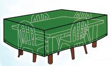 Telo copertura pvc tavoli rettangolari con sedie giardino copri tavolo 144420