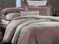New Canterbury ALTO 100% Cotton Sateen Queen Size Quilt Doona Cover Set