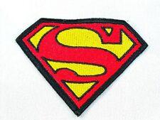 Superman Emdroidered Biker Patch