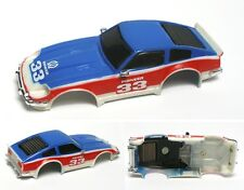 1980 Ideal TCR DATSUN 280 Red, White & Blue #33 Slot Car Body 4693-8