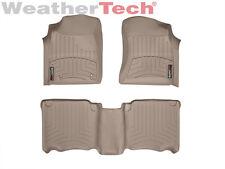 WeatherTech Floor Mats FloorLiner for Toyota Fortuner - 2007-2011 - Tan