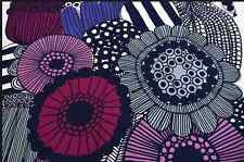Marimekko Siirtolapuutarha cotton fabric half yard purple heavy weight gorgeous!