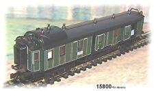 15800-01 Minitrix - 1 trozo de tren bala-carro para el equipaje de la Bay K.. STS. B. 4-achsi