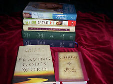 Lot 8 Beth Moore Inspirational Books Paul John Davis Praying God's Word Christ +