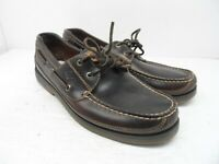 Sperry Top-Sider Men's Authentic Original Boat Shoes Brown Leather Size 11.5M