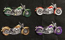 Motorcycles Biker Embroidery Iron On Applique Patch---006BG