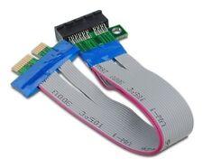 Streacom PCI Express 1X Slot Riser Card Adapter Cable