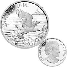2014 Canada $20 Fine Silver Coin - Bald Eagle with Fish