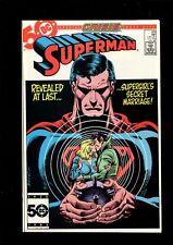 SUPERMAN 415 (9.6) CRISIS DC (B035)