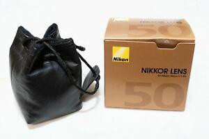 Nikon NIKKOR 50mm f/1.4D AF-D Prime Lens - Mint-