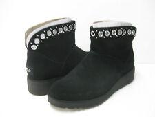 UGG RILEY WOMEN ANKEL BOOTS SUEDE BLACK US 8.5 /UK 7 /EU 39.5 /JP 255