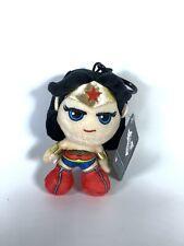 Wonder Woman Plush Keychain Key Chain Backpack Clip DC Comics Justice League
