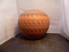 vintage Navajo Vase signed C. Billy Native American  Pottery Pot