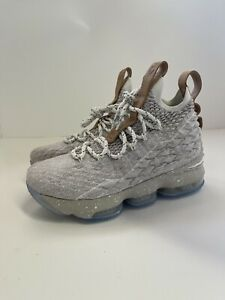 Nike Lebron 15 Ghost Vachetta Tan (GS) Size 4.5Y 922811-200 New Without Box