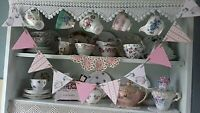 WOODEN BUNTING MADE USING JEMIMA PUDDLEDUCK NURSERY BABY SHOWER CHRISTENING GIFT