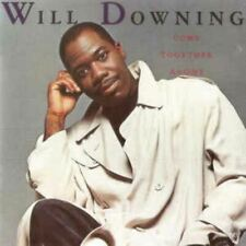 WILL DOWNING come together as one (CD, album, 1989) swingbeat, soul, very good,