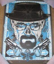 WALTER WHITE Breaking Bad art poster print RHYS COOPER Blue Meth DINGED
