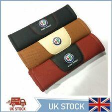 Set of 2 Seat Belt Covers Shoulder Pads For Alfa Romeo Car