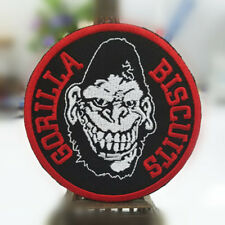 GORILLA BISCUITS EMBROIDERED PATCH - New York Hardcore NYHC punk post-hardcore