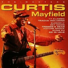 Curtis Mayfield The Masters CD NEW Soul Move On Up/Superfly/Freddie's Dead+