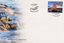 Aland 2018 FDC Spectacular Views SEPAC 1v Cover Tourism Landscapes Nature Stamps