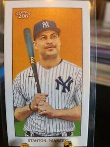 2020 Topps 206 Giancarlo Stanton New York Yankees
