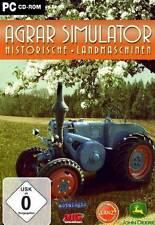 AGRAR SIMULATOR HISTORISCHE LANDMASCHINEN * DEUTSCH * NEU