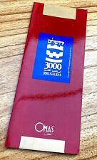 Original Omas 3000 Jerusalem Fountain Pen Collection Catalogue, NOS (# x5615)