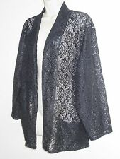 Lace Plus Size Floral Casual Coats & Jackets for Women