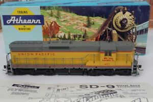 Ahearn HO Scale No.457 Union Pacific SD-9 Diesel Engine With Box 3806