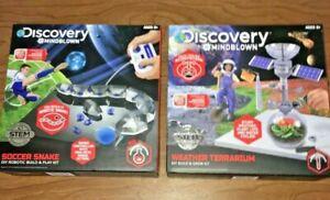 M2 Discovery #Mindblown Soccer Snake Robotic Build Play  Kit Weather Terrarium