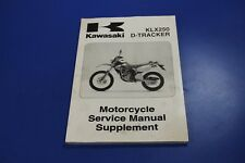 1993-1996 Kawasaki KLX250 D-Tracker Service Motorcycle Manual Supplement