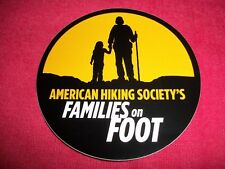 American Hiking Societys Sticker Decal