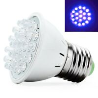 Cool E27 20LED Plant Grow Lamp UV Light Indoor Hydroponic Vegetable Bulb 220V