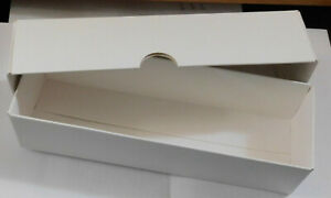 10 x MEDIUM WHITE REPLACEMENT BOXES, LOCOS COACHES  HO/OO GAUGE