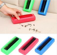 Plastic Sweeper Carpet Car Seat Dust Brush Dirt Collector Hand Cleaner Roller