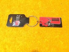 ***NEW** OFFICIAL NFL FOOTBALL LEAGUE CLEVELAND BROWNS KEY CHAIN RICO INDUSTRIES